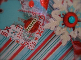 Scrapbook Paper, buttons & odd left overs