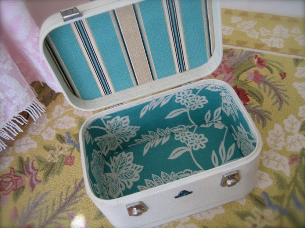 DIY - Vintage Suitcases say