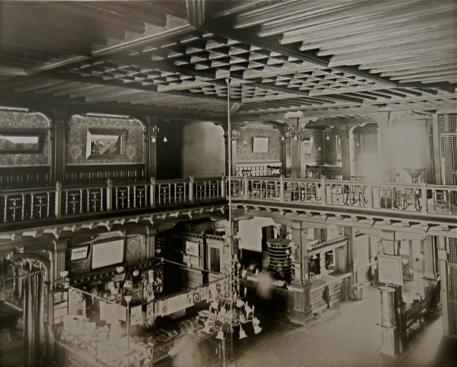 The Lobby in Late 1800's