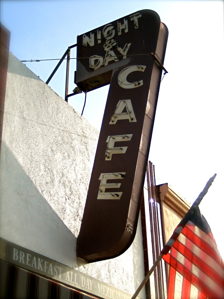 Night & Day Cafe, Orange Ave, Coronado California