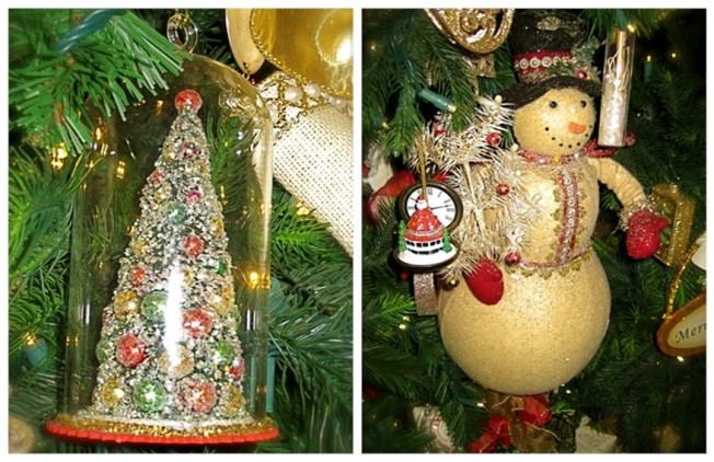 Charming Vintage Inspired Ornaments