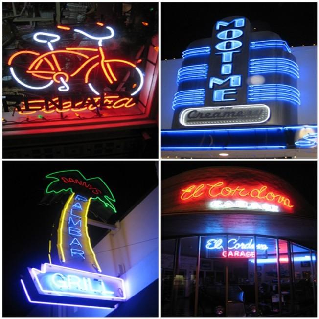 California Neon Magic
