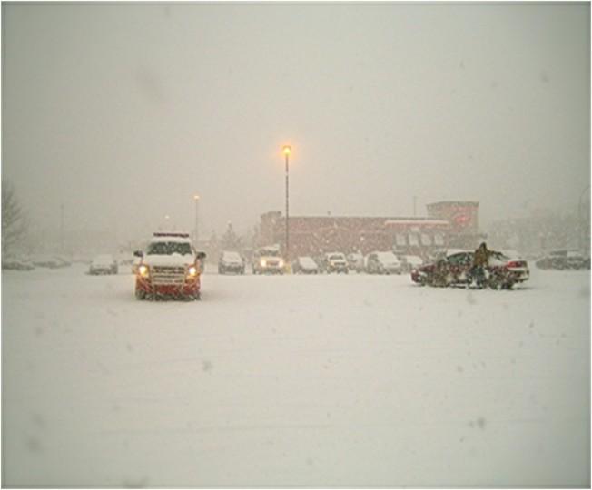 News Flash, It's Snowing