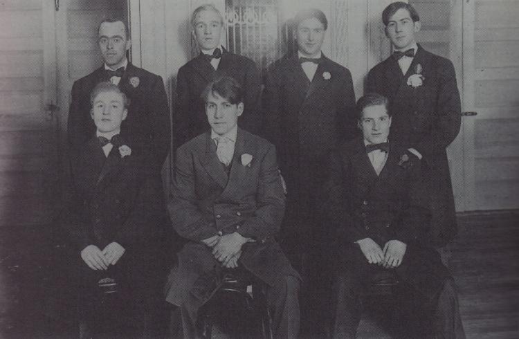 1916 Princess Theatre Ushers