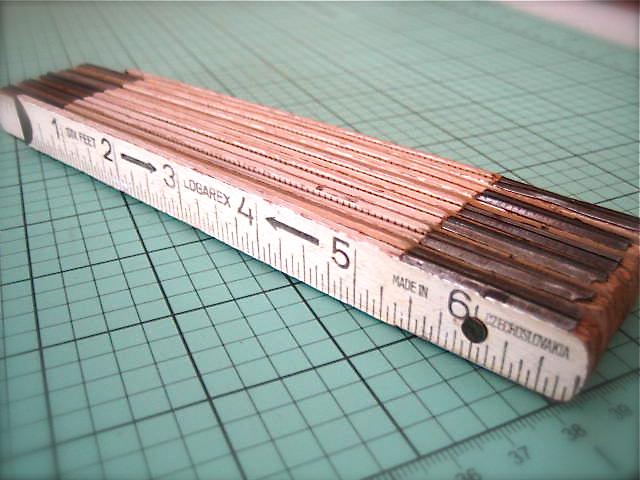 Vintage ruler