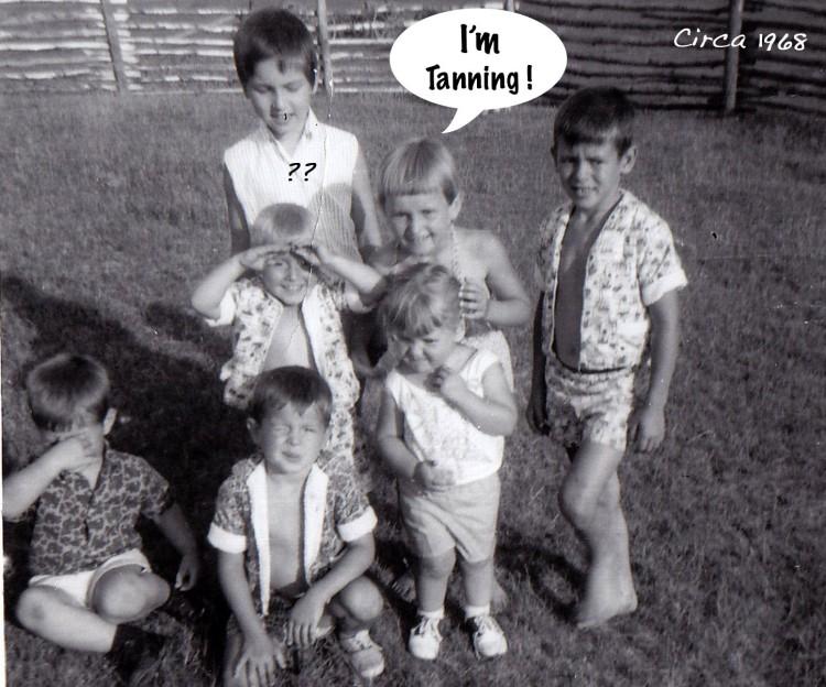 I'm Tanning!