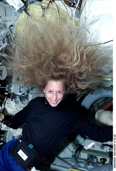 OK, it's not me but it looked like this!  This is astronaut Astronaut Marsha Ivins