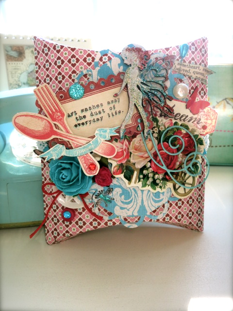 Collage Pillow Envelope