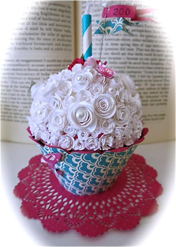 Paper Cupcake!