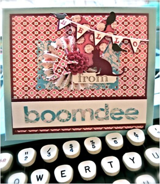 Petal Card by Boomdee