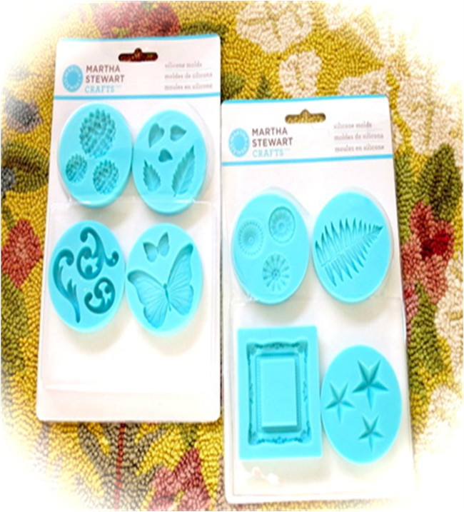 Martha Stewart Silicon Moulds