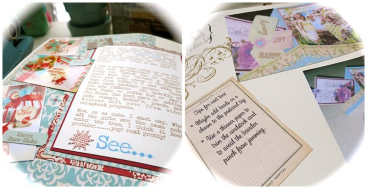 Before Blogging there was a Craft Journal