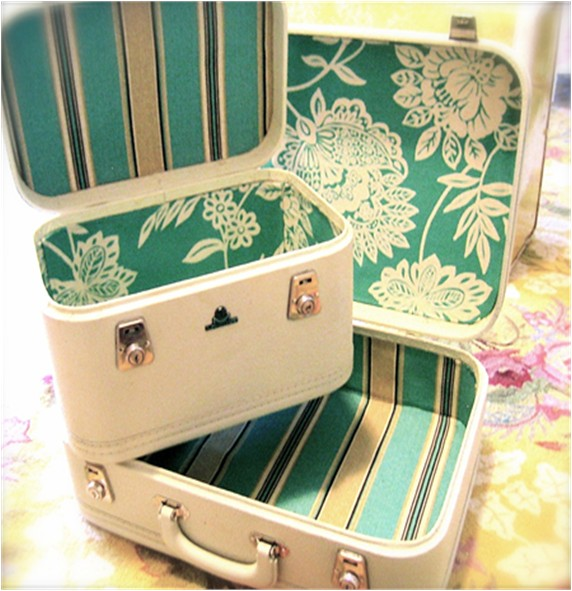 Vintage Luggage Re-do