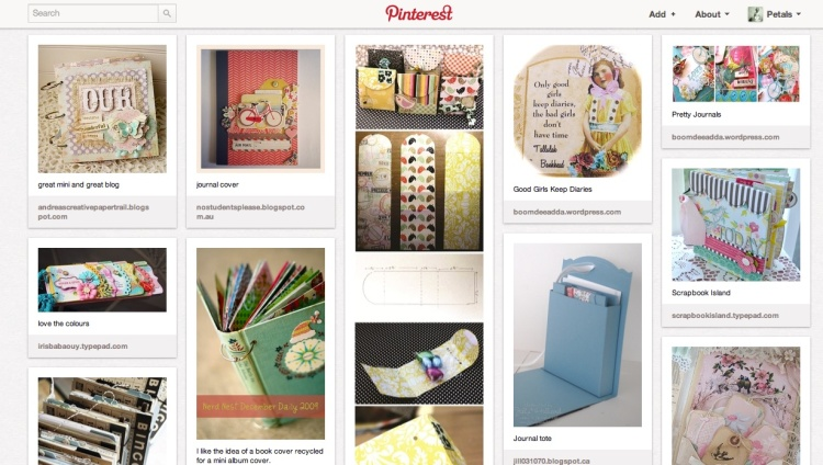 Pinterest Journals