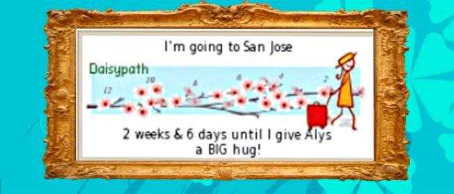 20 Days To San Jose!