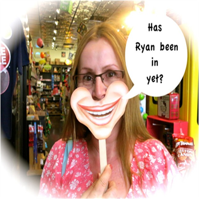 Has Ryan been in yet?