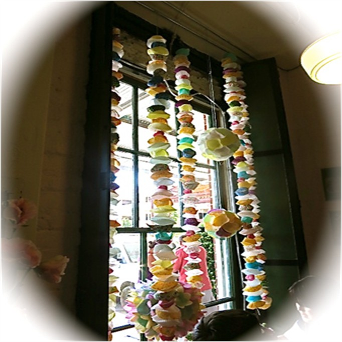 Paper Cupcake Chains