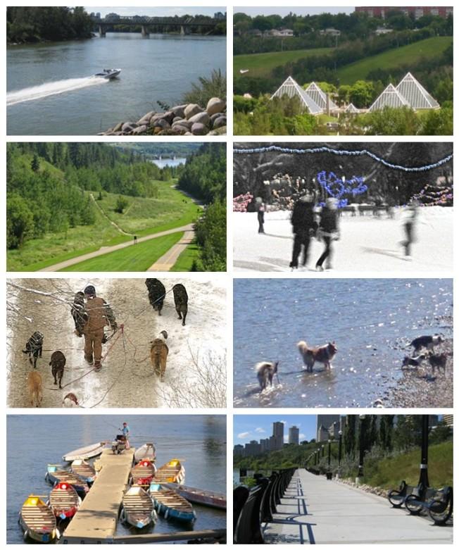 Edmonton River Valley Activities