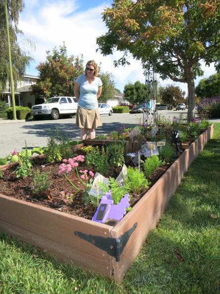 Gardening Nirvana curbside