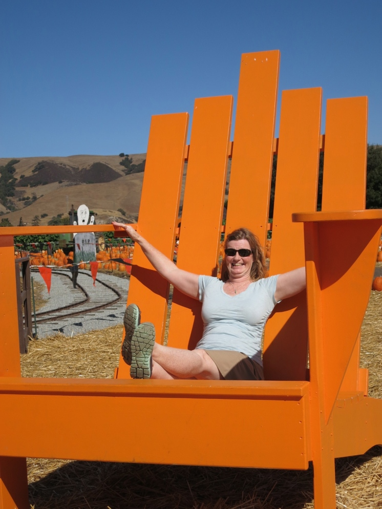Never to old for a BIG chair