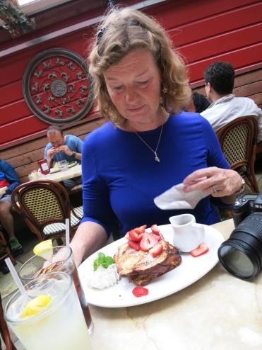 Breakfast in San Francisco