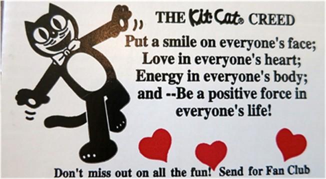 Kit-Cat Klock Message