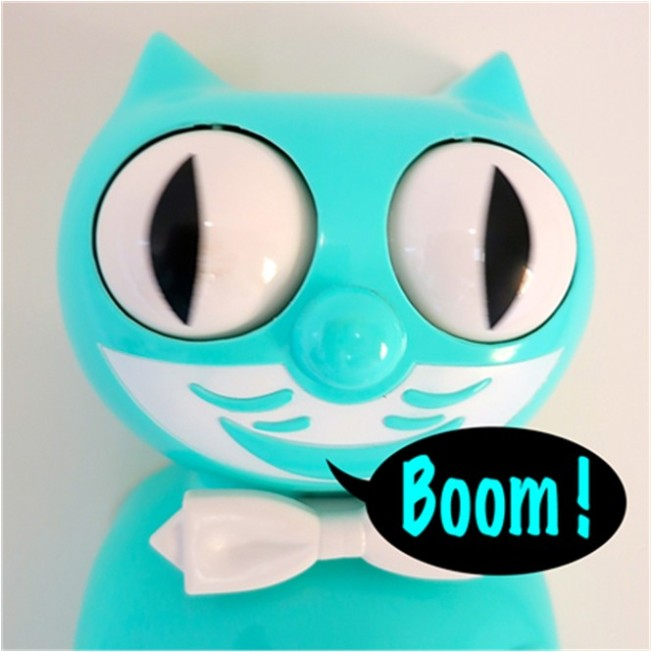 Boomdee's Kit-Cat Klock