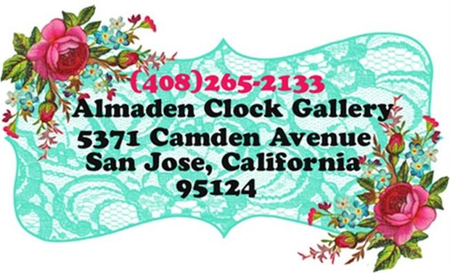 Almaden Clock Gallery