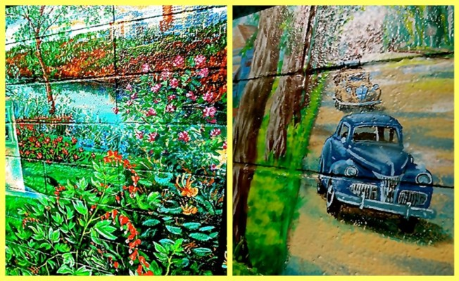 Lovely Gardens & Vintage Cars