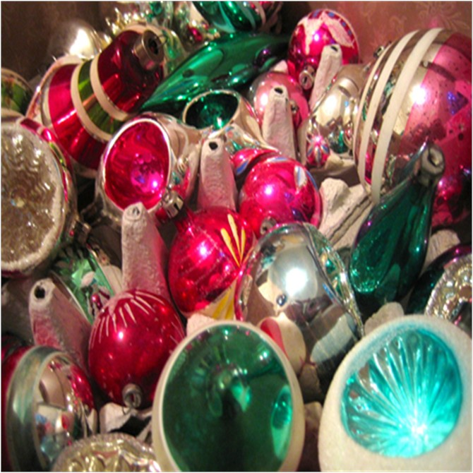 Vintage Christmas Ornaments Boomdee Style