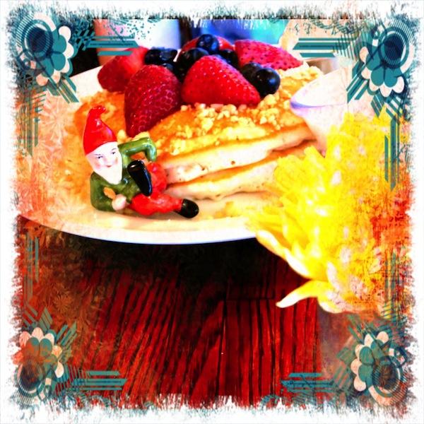 fancy pancakes