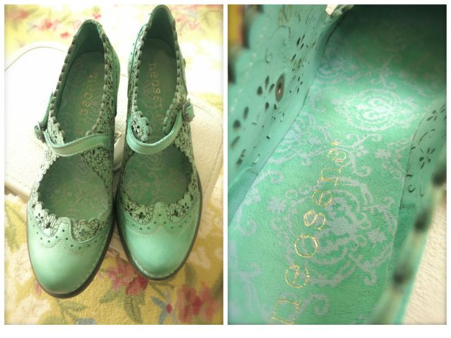 New Seafoam Shoes