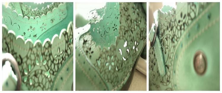 lacy seafoam details