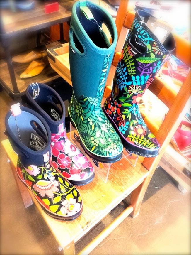 Groovy Rain Boots