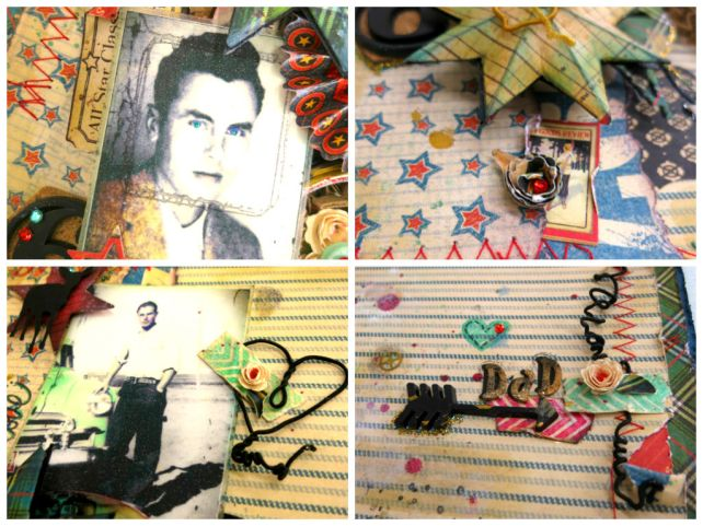 Fathers Day Scrap Layout