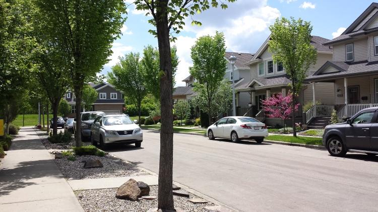 My pretty front street