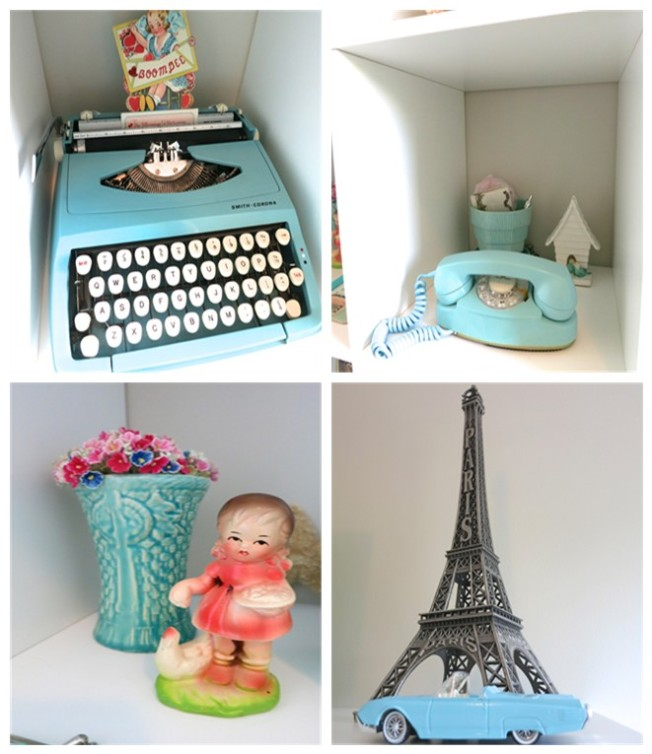 Displaying Vintage Collectables