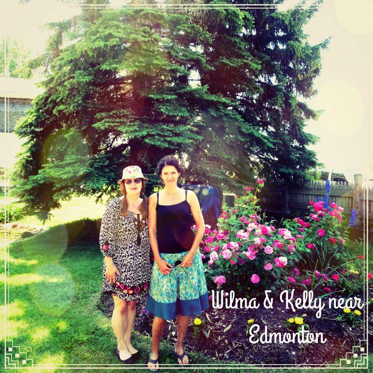 Wilma & Boomdee near Edmonton
