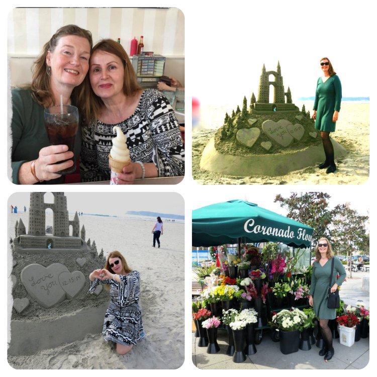 Alys's Visit Collage
