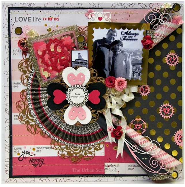 Page Kit Challenge by Boomdeeadda for Urban Scrapbook