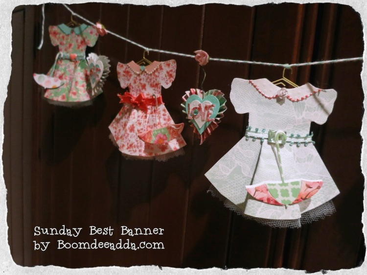 Sunday Best Banner by Boomdeeadda.com for Urban Scrapbook