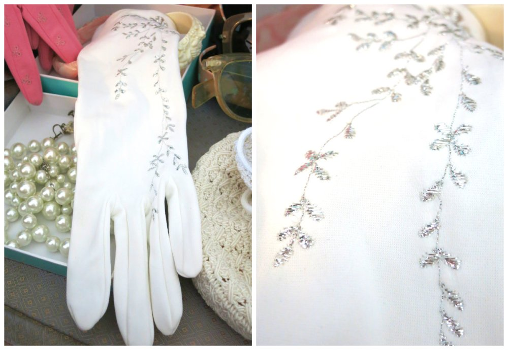 pretty vintage gloves