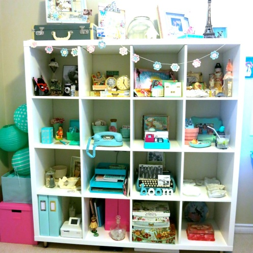 Organized and (eeek) Dusted