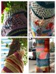 yarn bombing Edmonton
