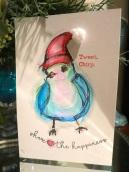 Aqua Bird of Happiness