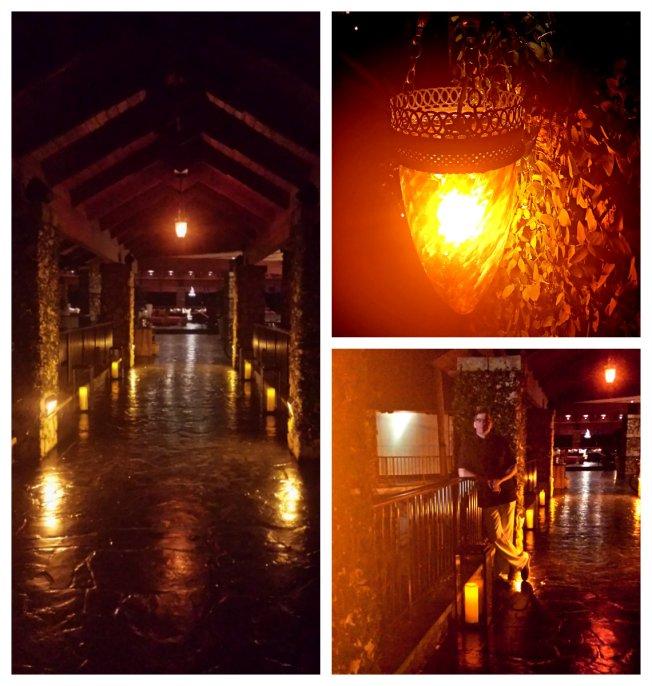 romantic glow collage