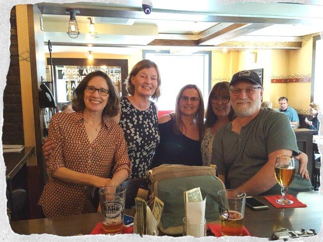 Patti, Alys, Boomdee, Terry and Joe in Washington DC